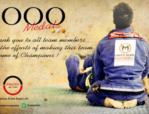 Team Celebrates its Medal Number 1000!