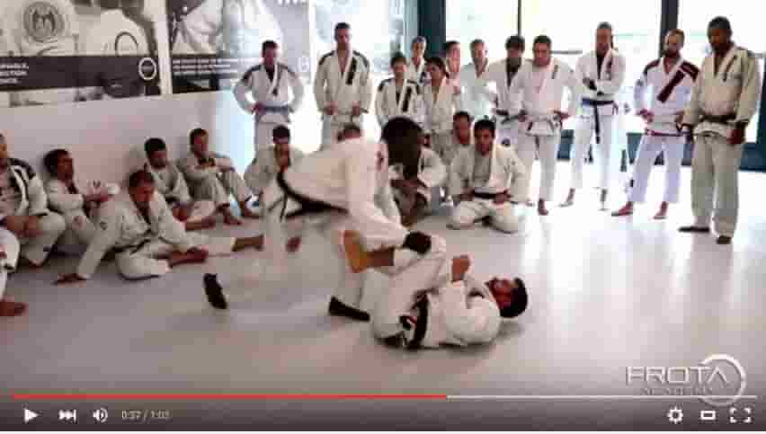 Frota Team Lesson: Omoplata & Armbar from Open Guard