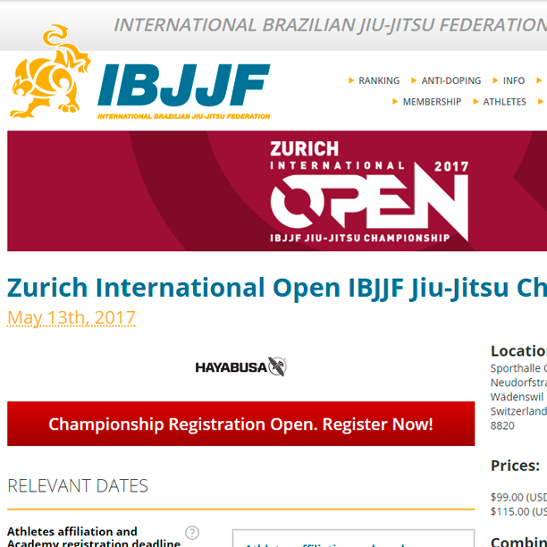Apply Now – BJJ Open Zurich 2017
