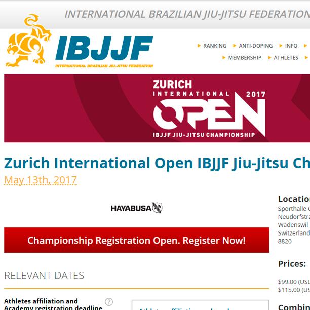 Apply Now – BJJ Open Zurich 2017