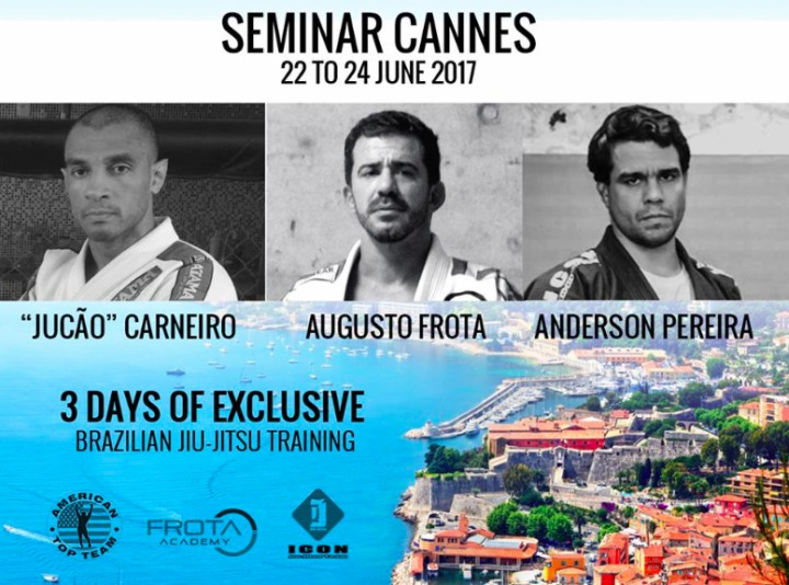 Summer BJJ Camp in Cannes w/ Roan Carneiro, Augusto Frota & Anderson Pereira