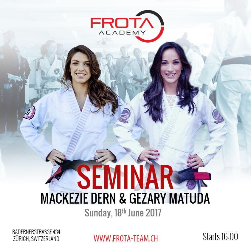 Mackezie Dern & Gezary Matuda Seminar /FA 2017