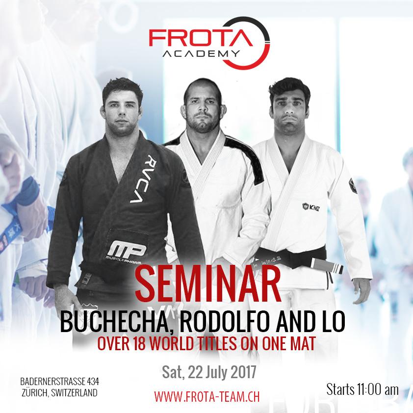 "Seminar Marcus ""Buchecha"", Rodolfo Vieira and Leandro Lo 2017"
