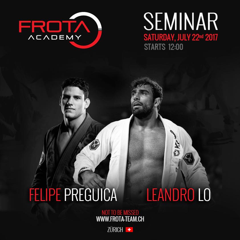 Felipe Preguica and Leandro Lo BJJ Seminar