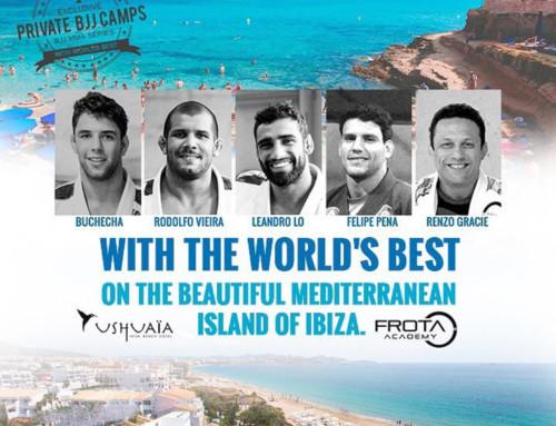 Ibiza Private BJJ Camp with Marcus Buchcecha, Leandro Lo, Felipe Pena, Rodolfo Viera and special guest Renzo Gracie, 3-7 July 2018