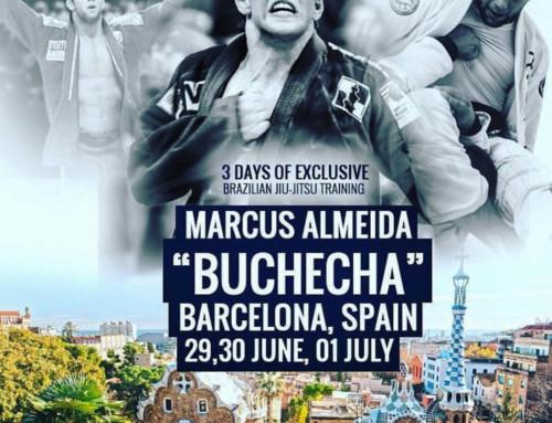 "Barcelona Male BJJ Camp with Marcus Almeida ""Buchehca"", 29 June – 1 July 2018"