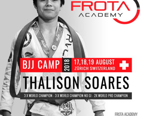 Brazilian Jiu Jitsu  Camp Thalison Soares