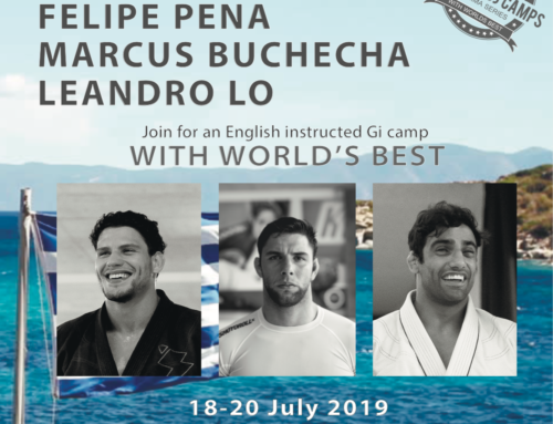 BJJ CAMP With the World's Best on the Greece's