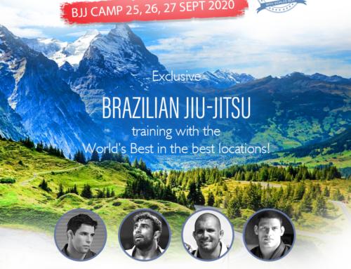 Exclusive Brazilian Jiu-jitsu training with the World's Best!